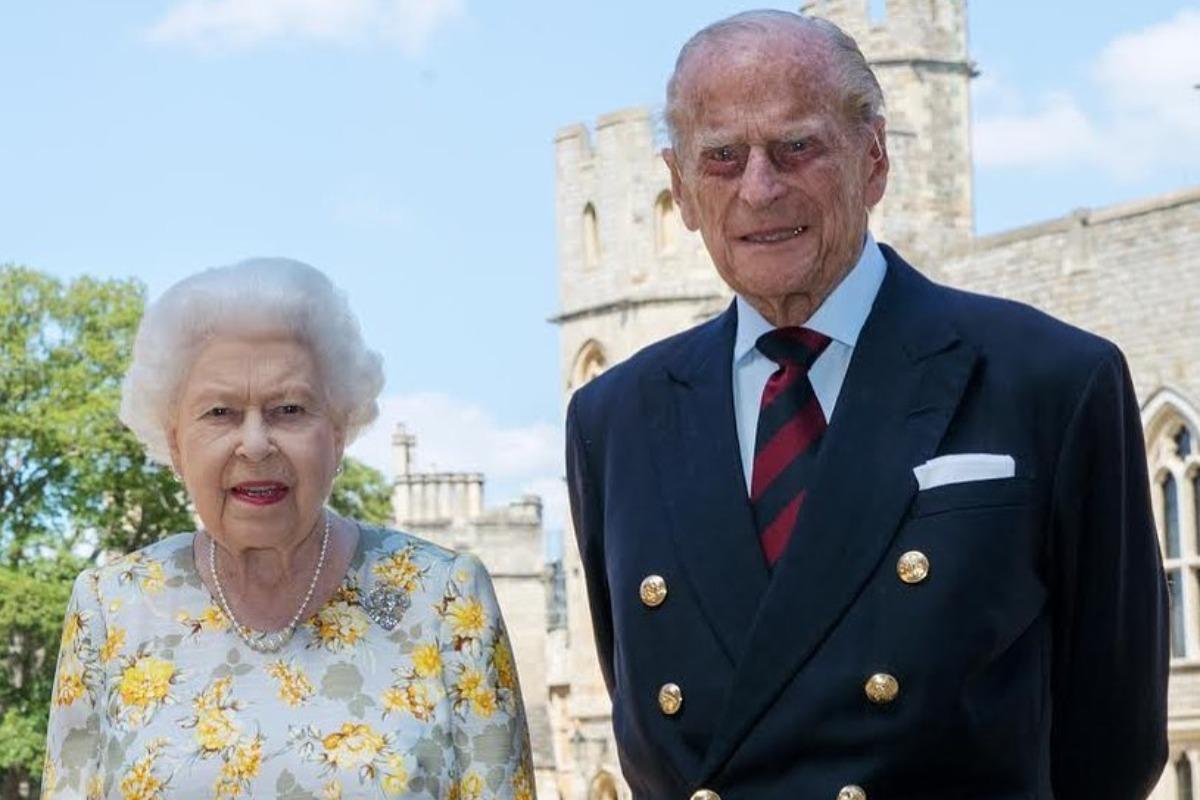 Príncipe Philip e rainha Elizabeth em 2019