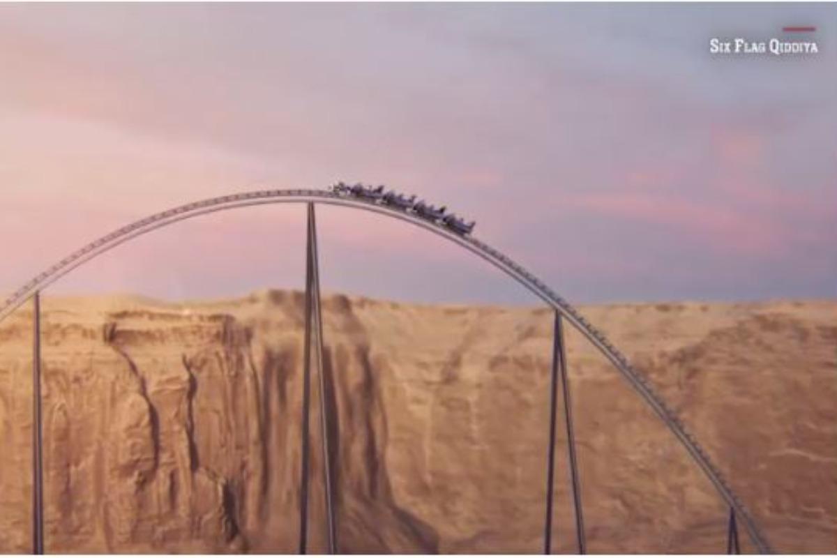Imagem mostra como será a montanha russa mais rápida do mundo