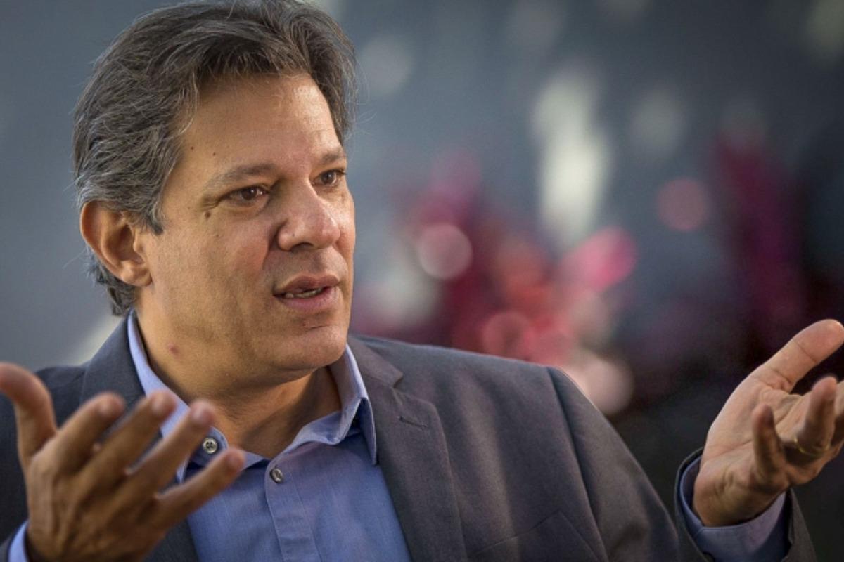 Na foto, o ex-prefeito de São Paulo e ex-candidato as eleições de 2018