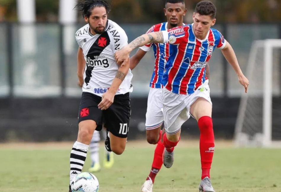 Em confronto direto contra o Bahia, Vasco fica no empate e aumenta chances de jogar a Série B