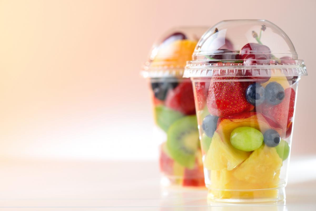 salada de frutas gourmet