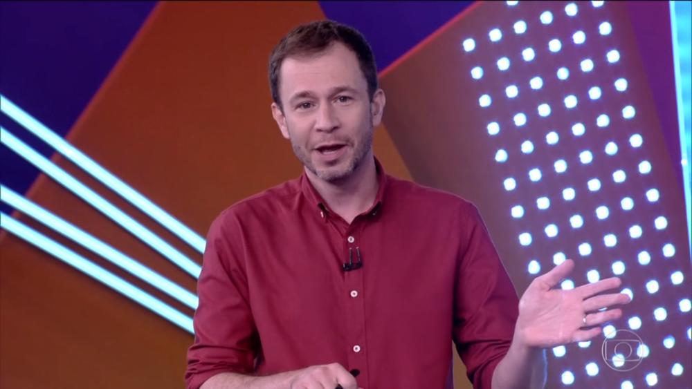 Tiago Leifert, apresentador do BBB21