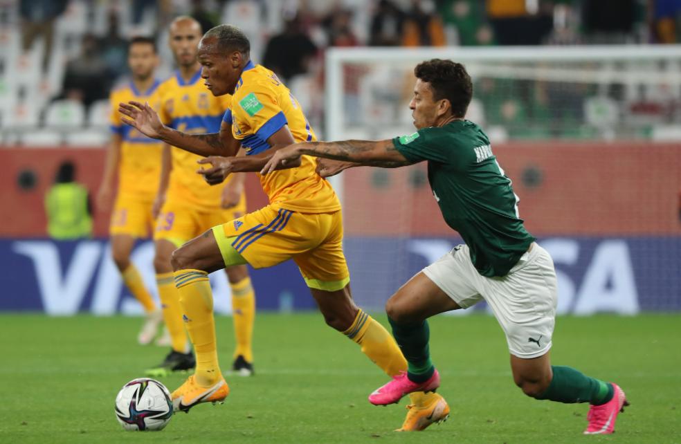 Tigres vence Palmeiras na semi e Verdão está fora do Mundial