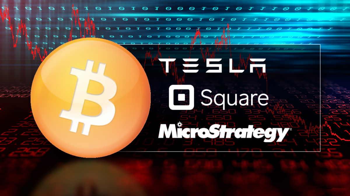 MicroStrategy, Tesla e Square, empresas comprando Bitcoin