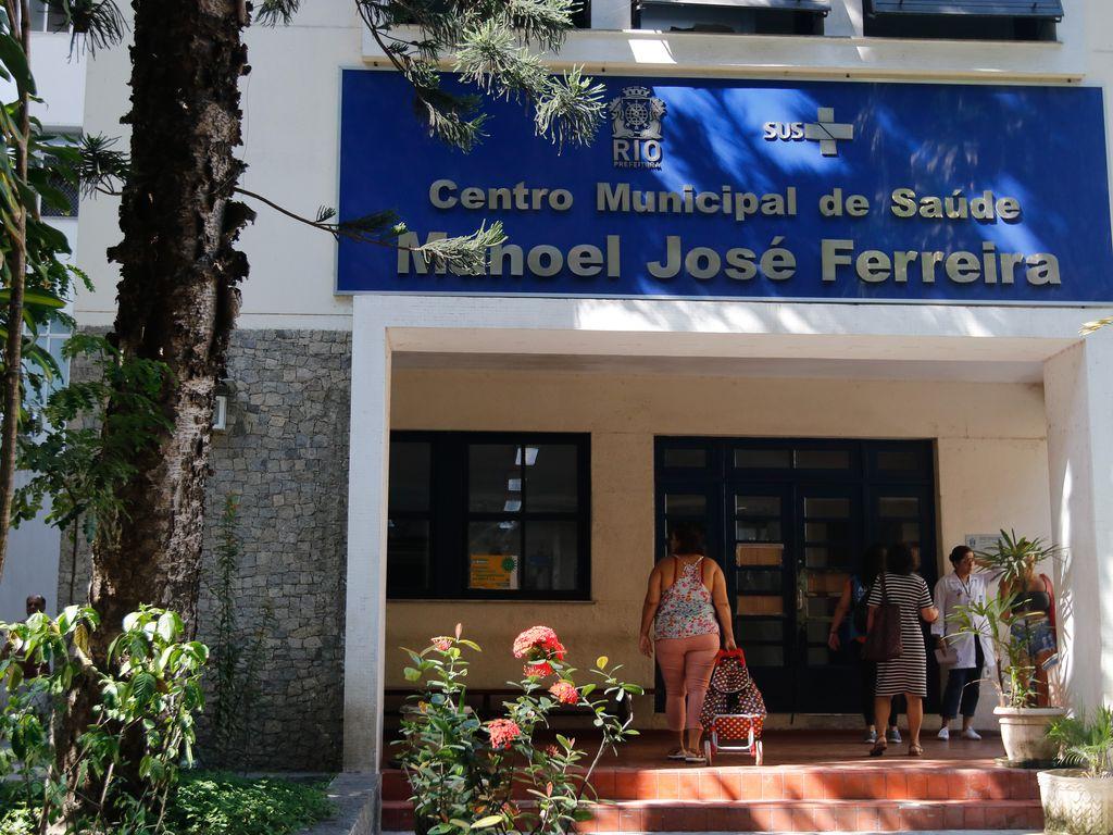 Imagem mostra posto de saúde público do Rio de Janeiro