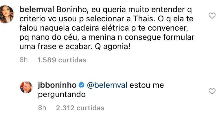 Instagram Boninho BBB21