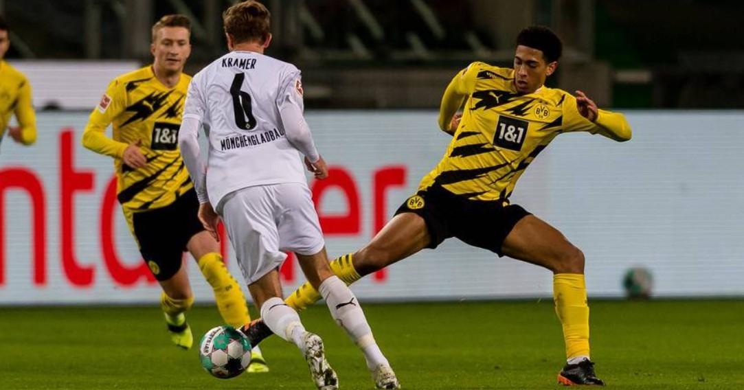 Mönchengladbach x Dortmund se enfrentam nesta terça-feira