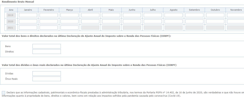 Portal Regularize. Parcelar Simples Nacional