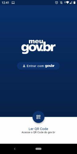 Aplicativo Meu Gov.br