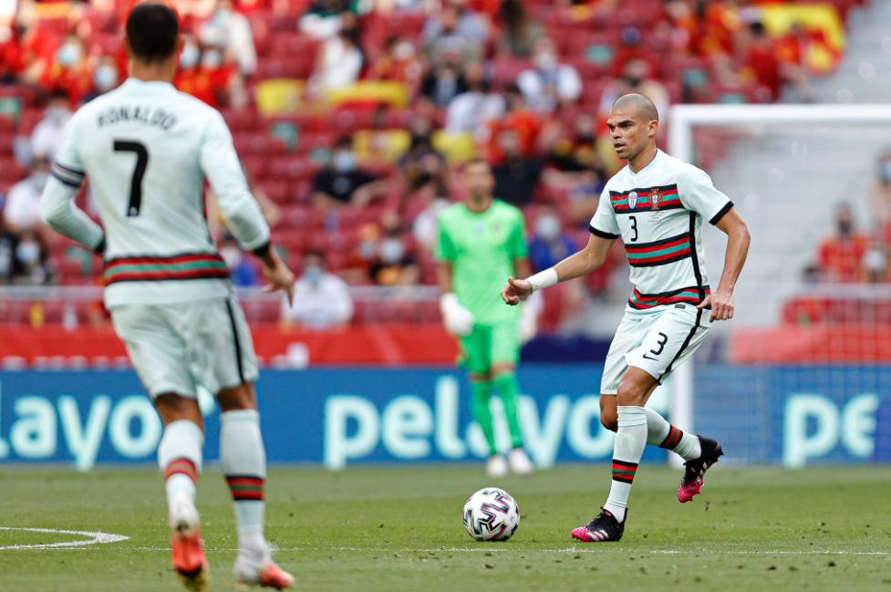 Pepe ha giocato tre Mondiali con il Portogallo